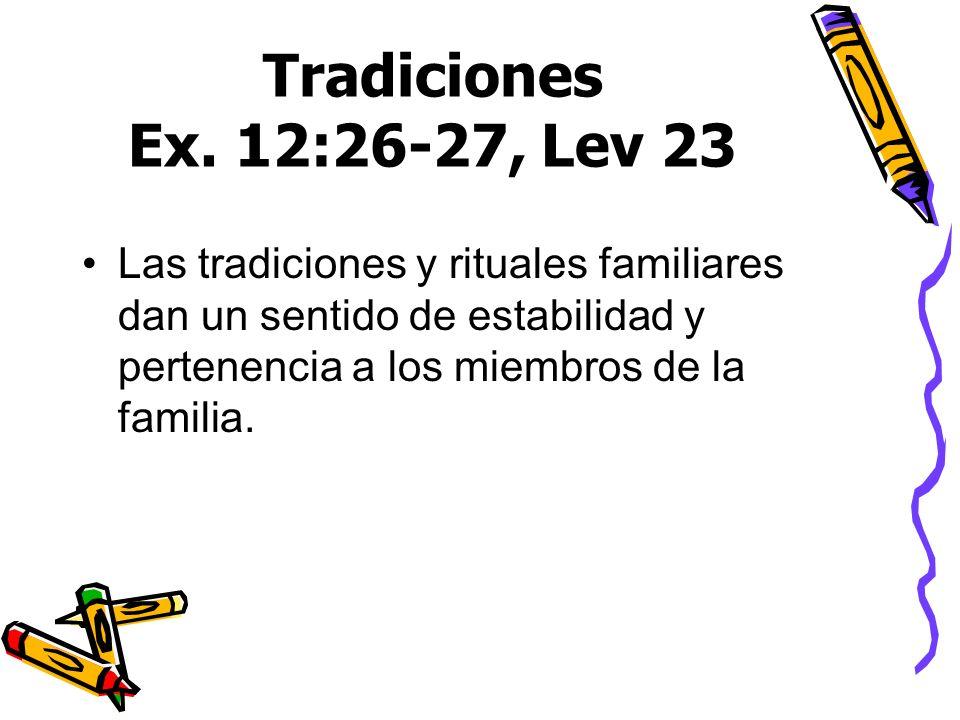 Tradiciones Ex.