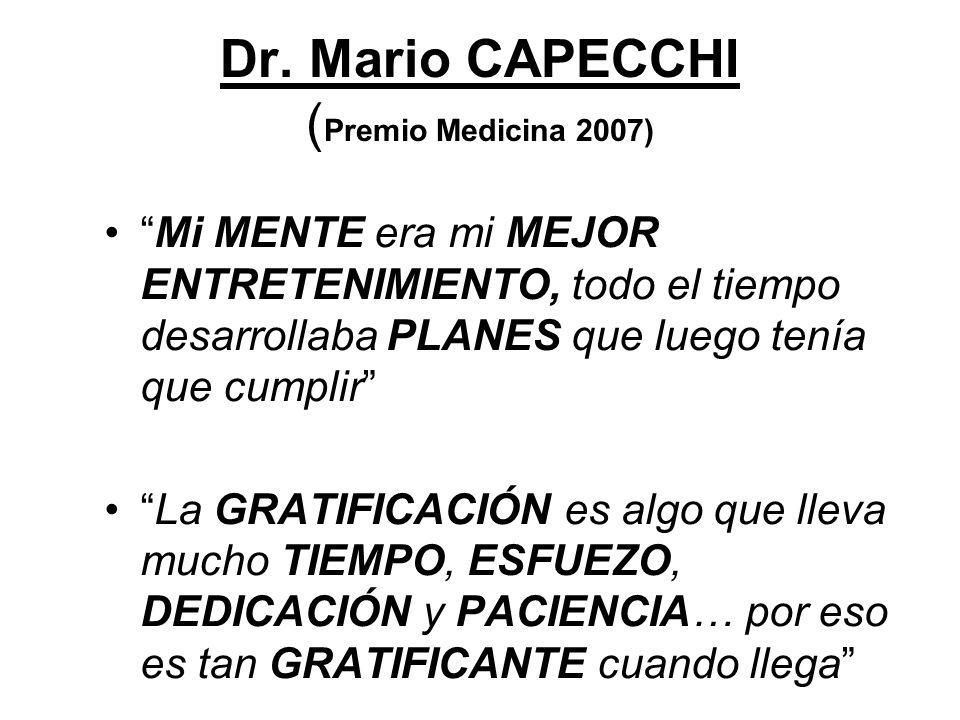 Dr. Mario CAPECCHI (Premio Medicina 2007)