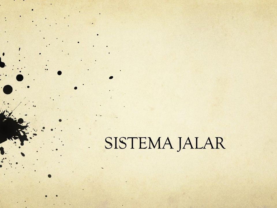 SISTEMA JALAR