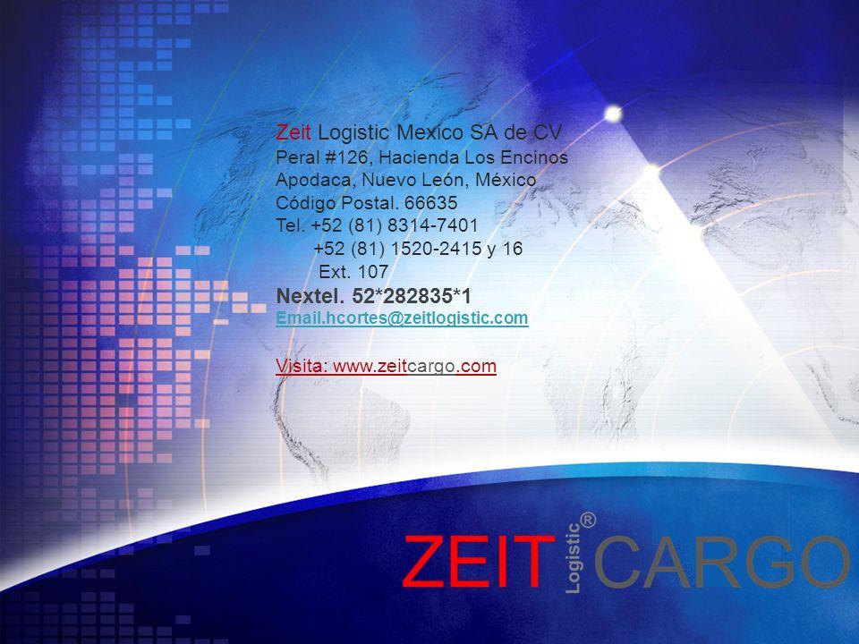 Zeit Logistic Mexico SA de CV