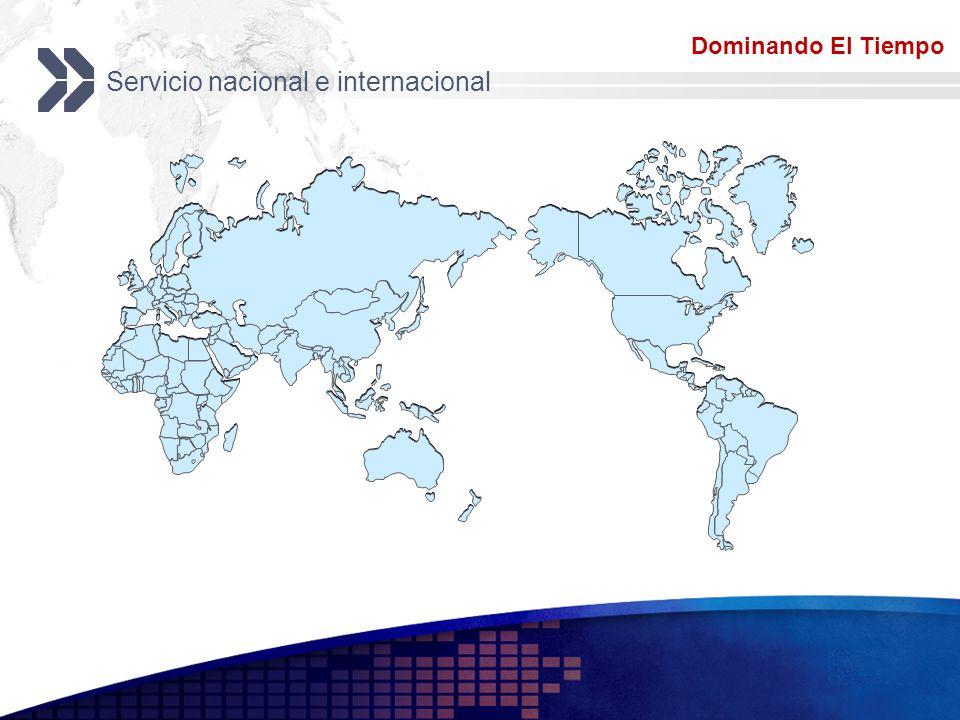Servicio nacional e internacional