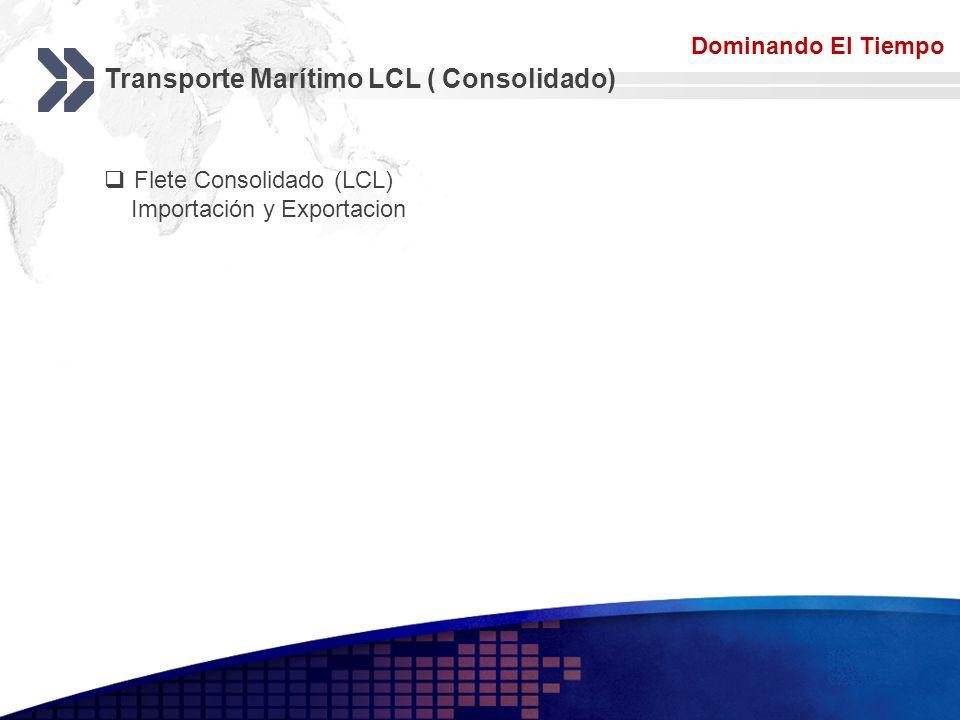 Transporte Marítimo LCL ( Consolidado)