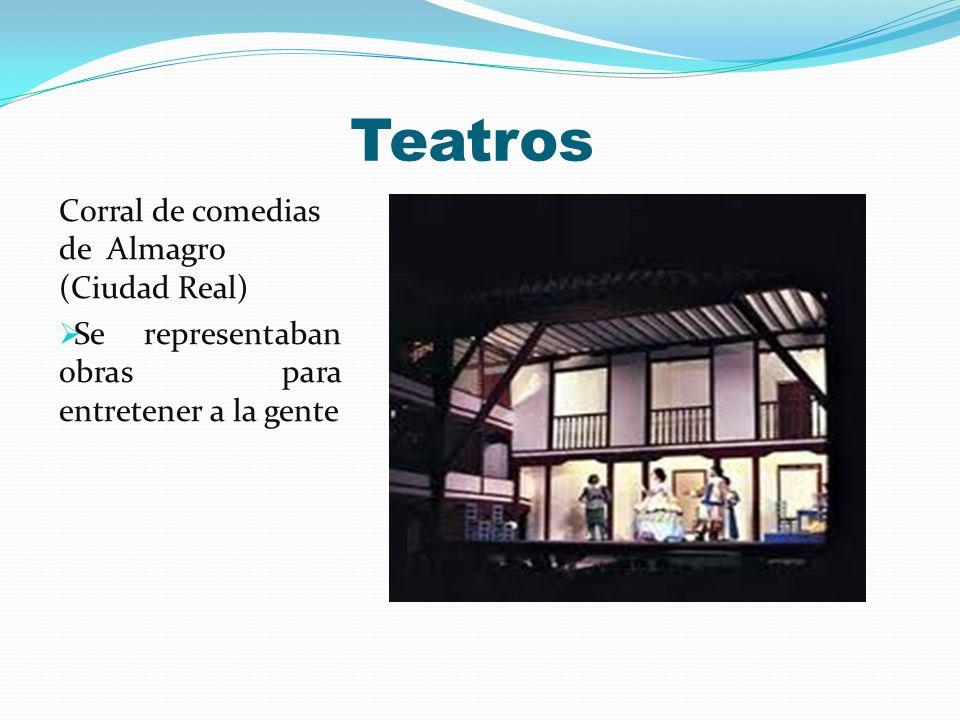 Teatros Corral de comedias de Almagro (Ciudad Real)