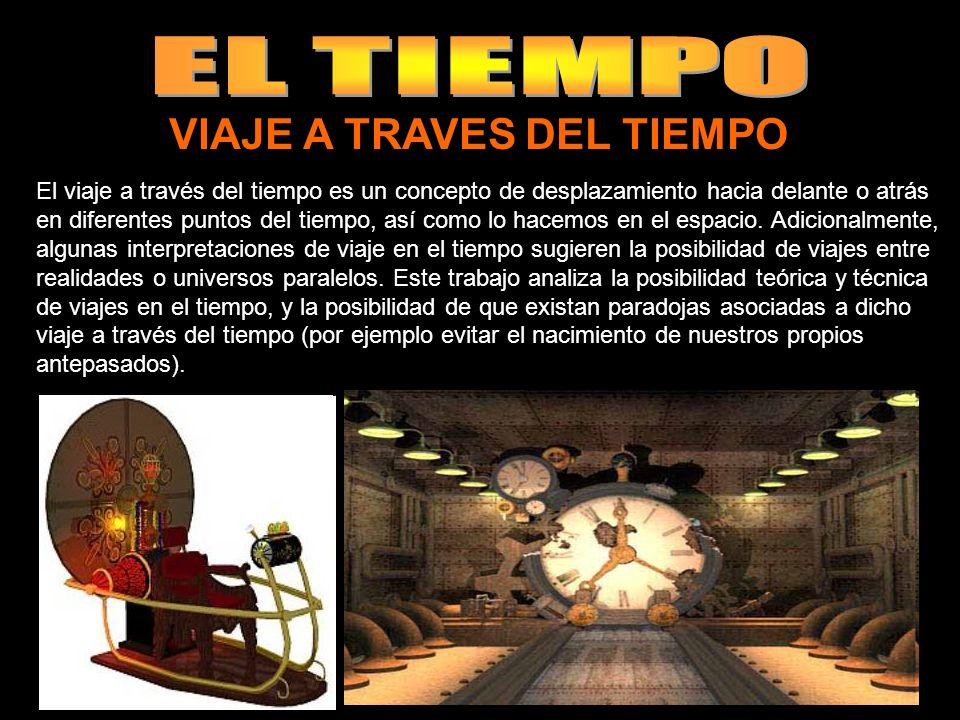 VIAJE A TRAVES DEL TIEMPO