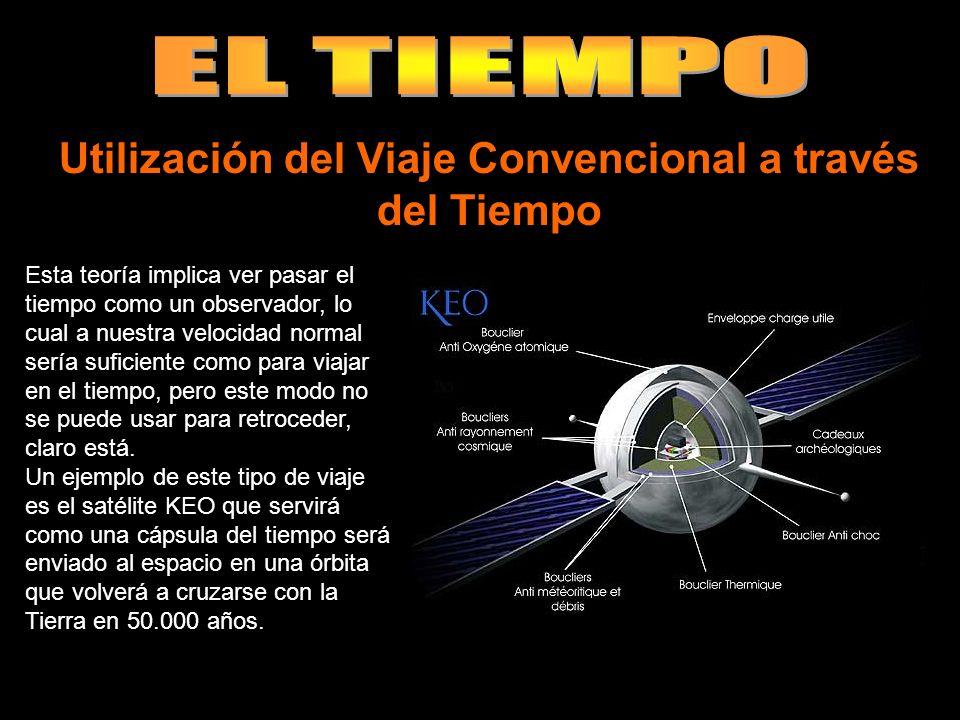 Utilización del Viaje Convencional a través del Tiempo