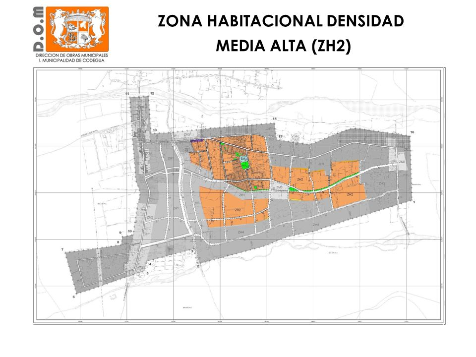ZONA HABITACIONAL DENSIDAD MEDIA ALTA (ZH2)