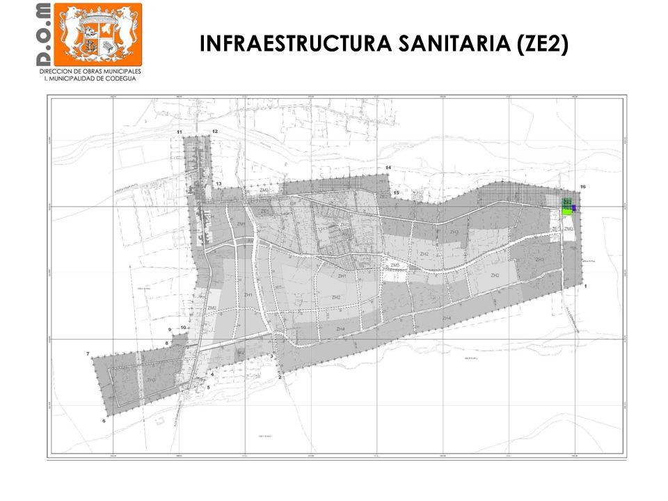 INFRAESTRUCTURA SANITARIA (ZE2)