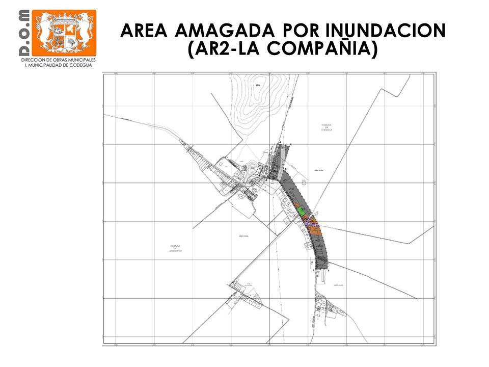 AREA AMAGADA POR INUNDACION (AR2-LA COMPAÑIA)