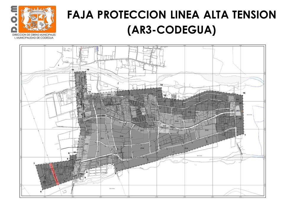 FAJA PROTECCION LINEA ALTA TENSION (AR3-CODEGUA)