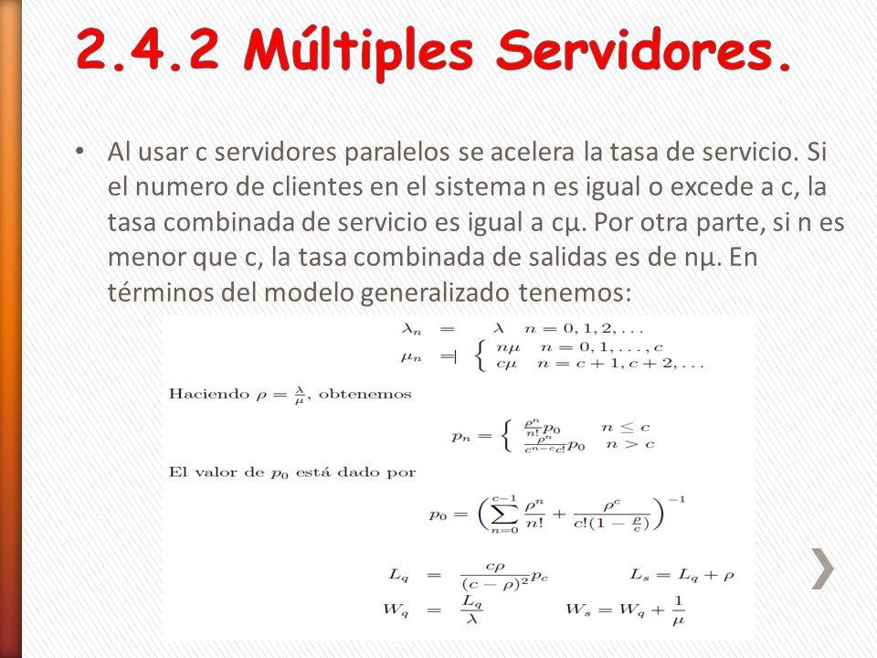2.4.2 Múltiples Servidores.