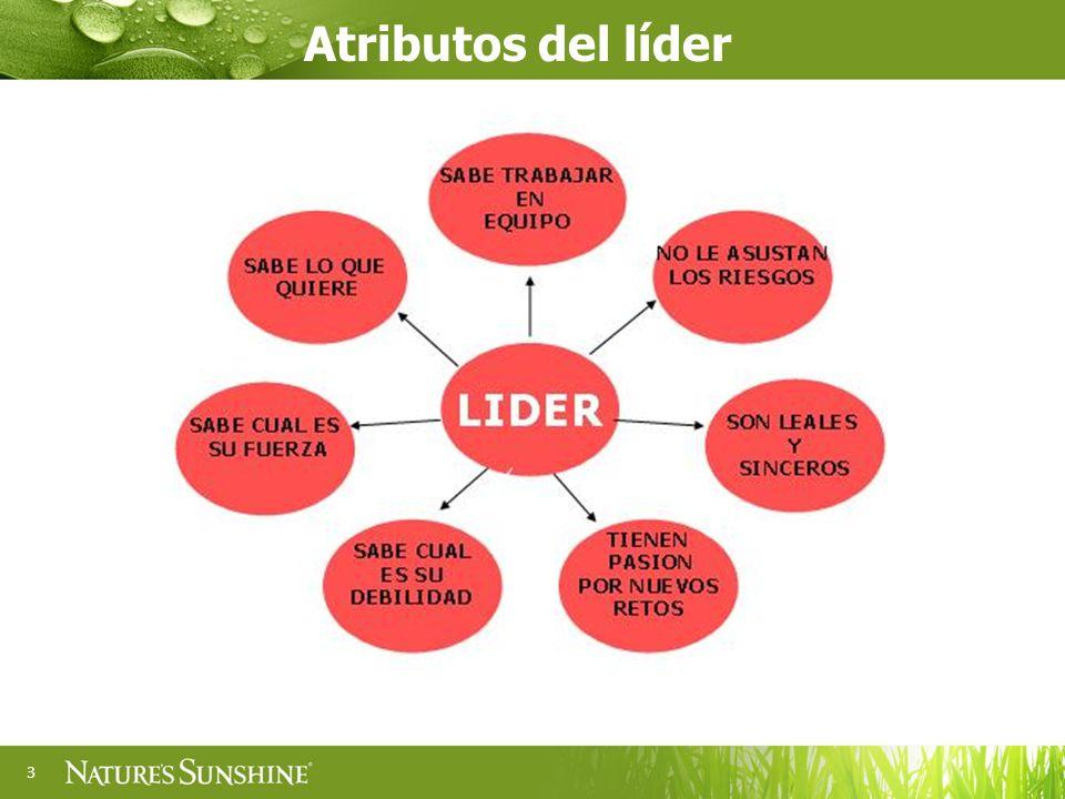 Atributos del líder