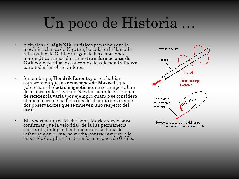 Un poco de Historia …