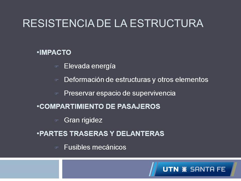 RESISTENCIA DE LA ESTRUCTURA