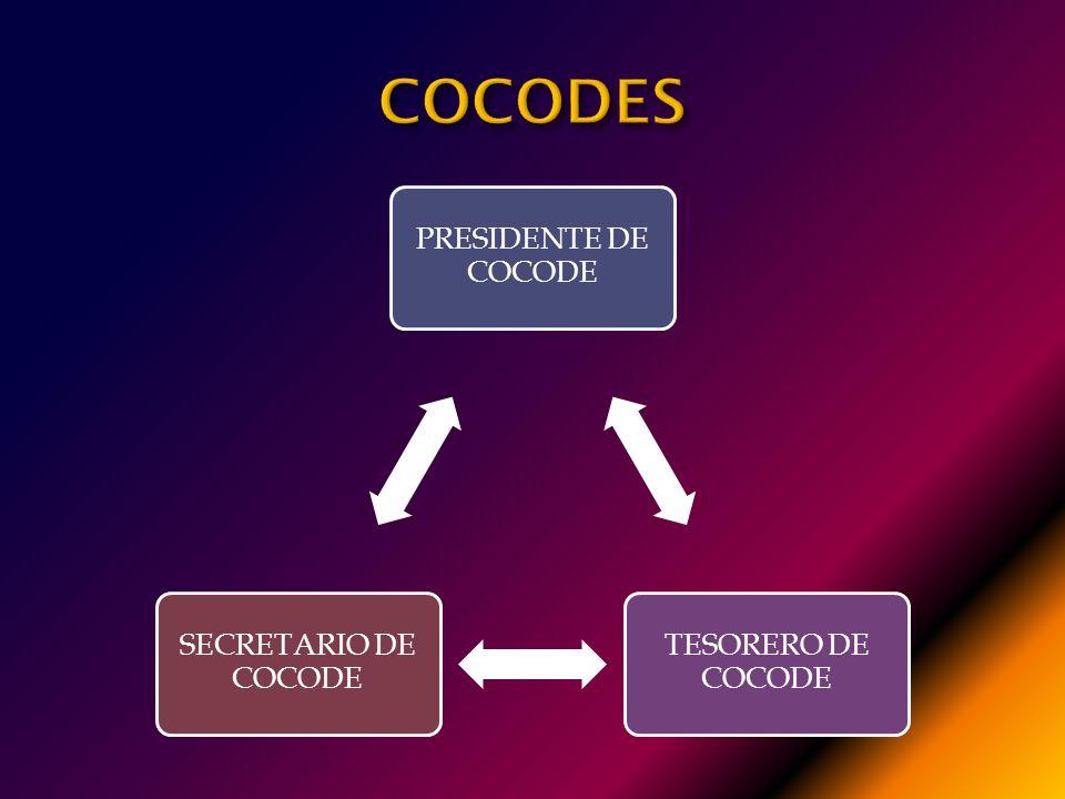 COCODES PRESIDENTE DE COCODE TESORERO DE COCODE SECRETARIO DE COCODE