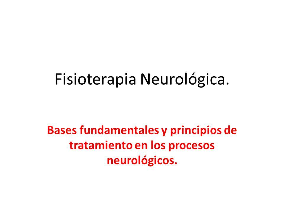 Fisioterapia Neurológica.