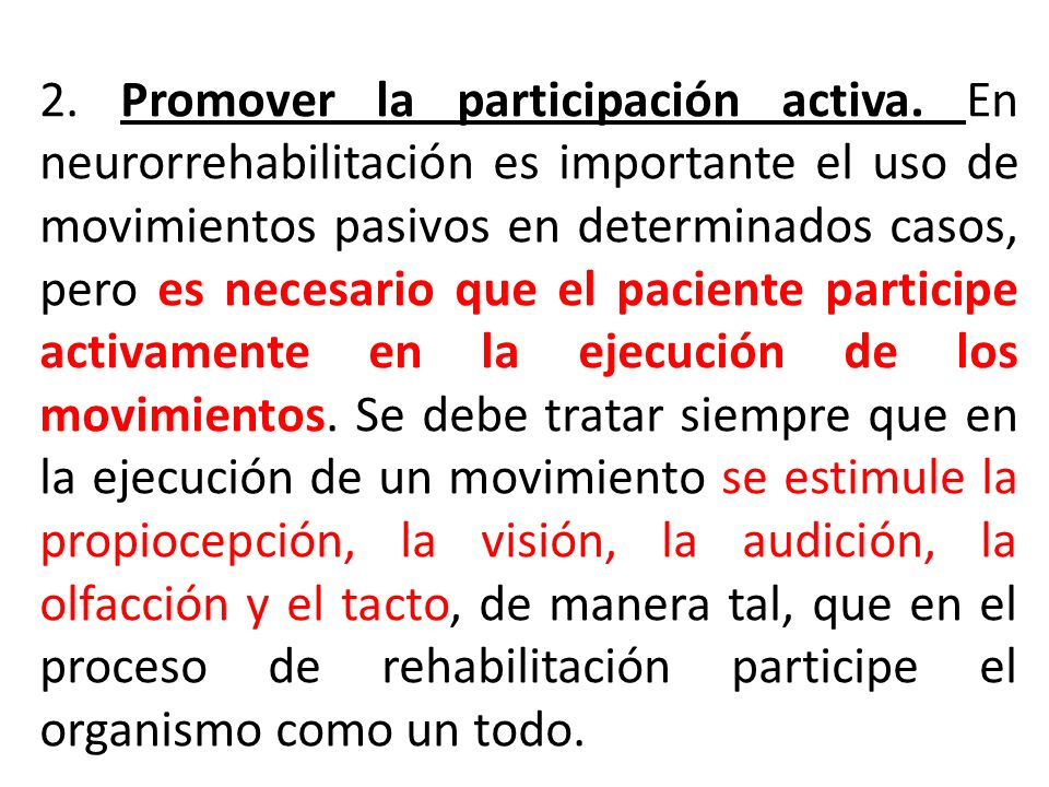 2. Promover la participación activa