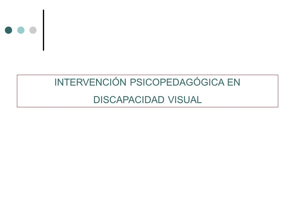 INTERVENCIÓN PSICOPEDAGÓGICA EN
