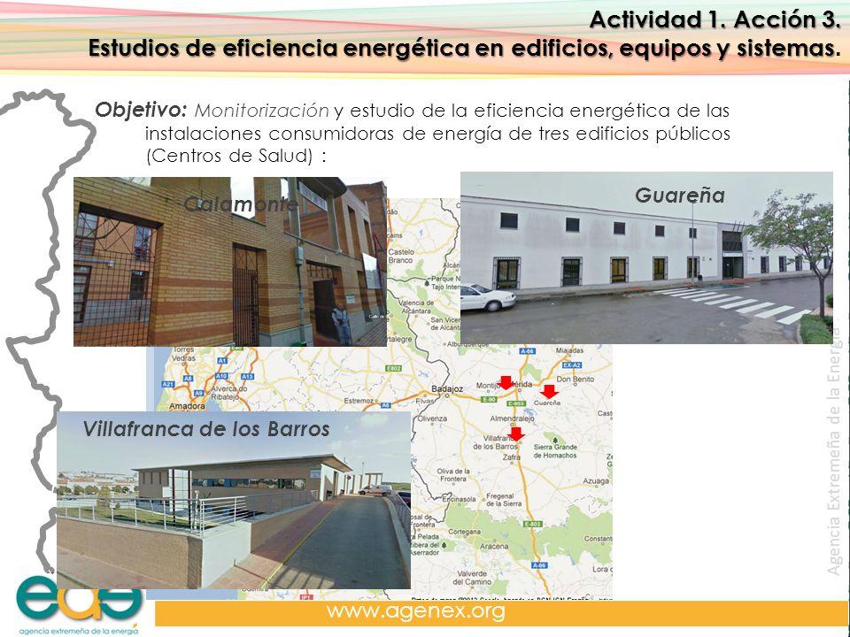 Estudios de eficiencia energética en edificios, equipos y sistemas.