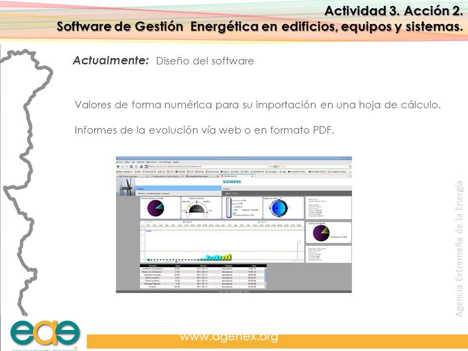 Software de Gestión Energética en edificios, equipos y sistemas.