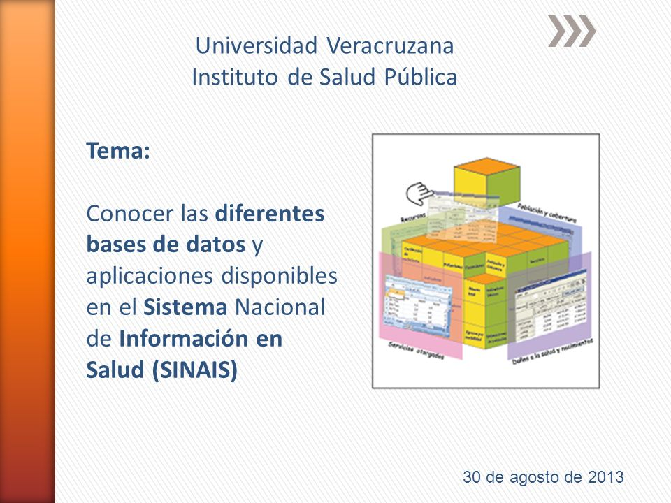 Universidad Veracruzana Instituto de Salud Pública
