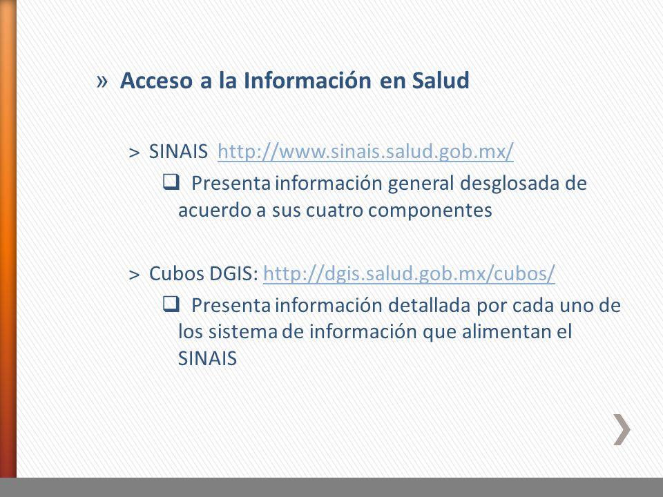 Acceso a la Información en Salud