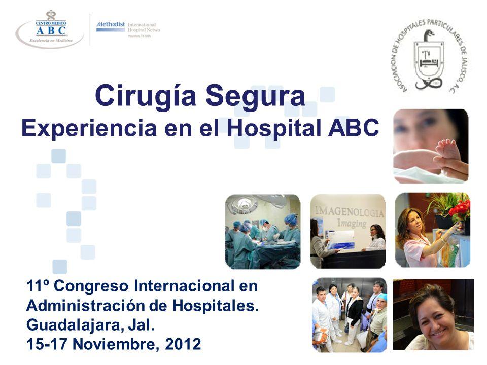 Experiencia en el Hospital ABC