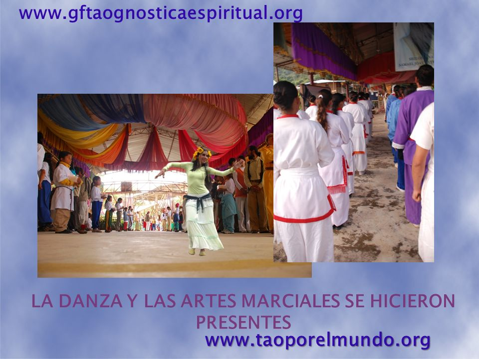 LA DANZA Y LAS ARTES MARCIALES SE HICIERON PRESENTES