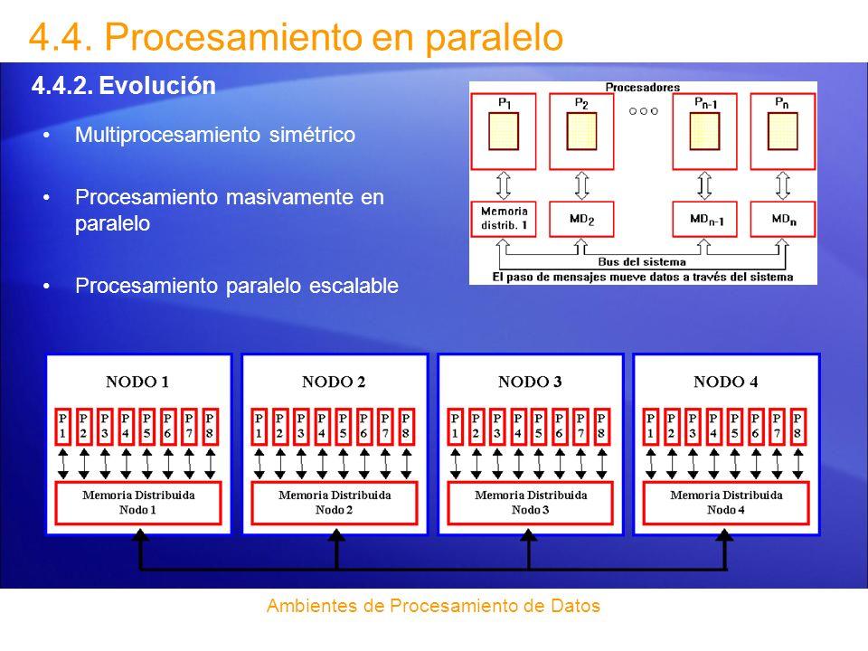 Ambientes de Procesamiento de Datos