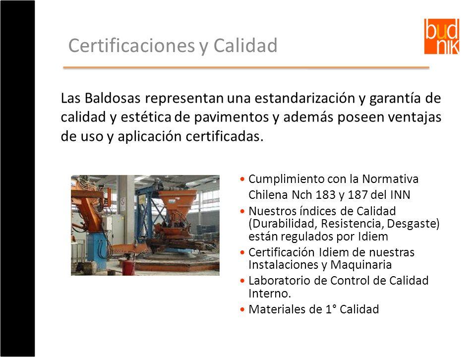 Certificaciones y Calidad