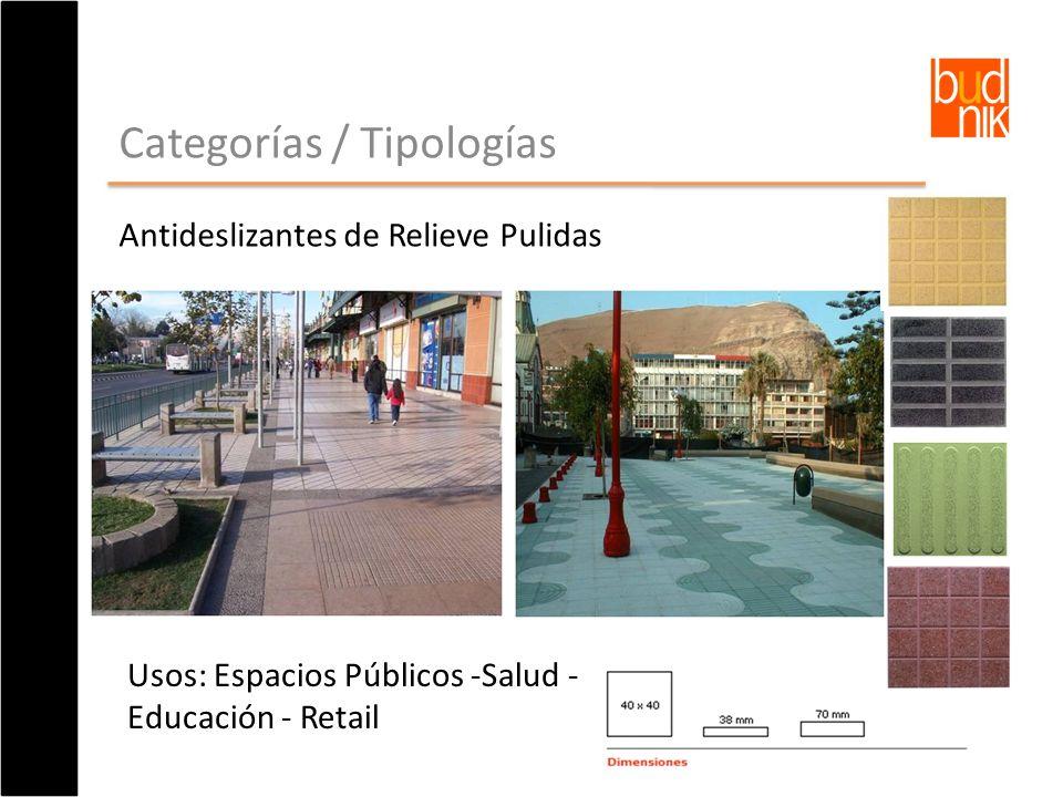 Categorías / Tipologías