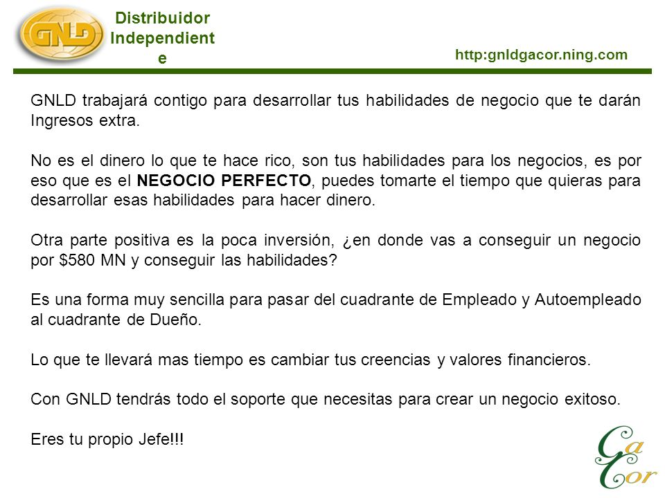 Distribuidor Independiente