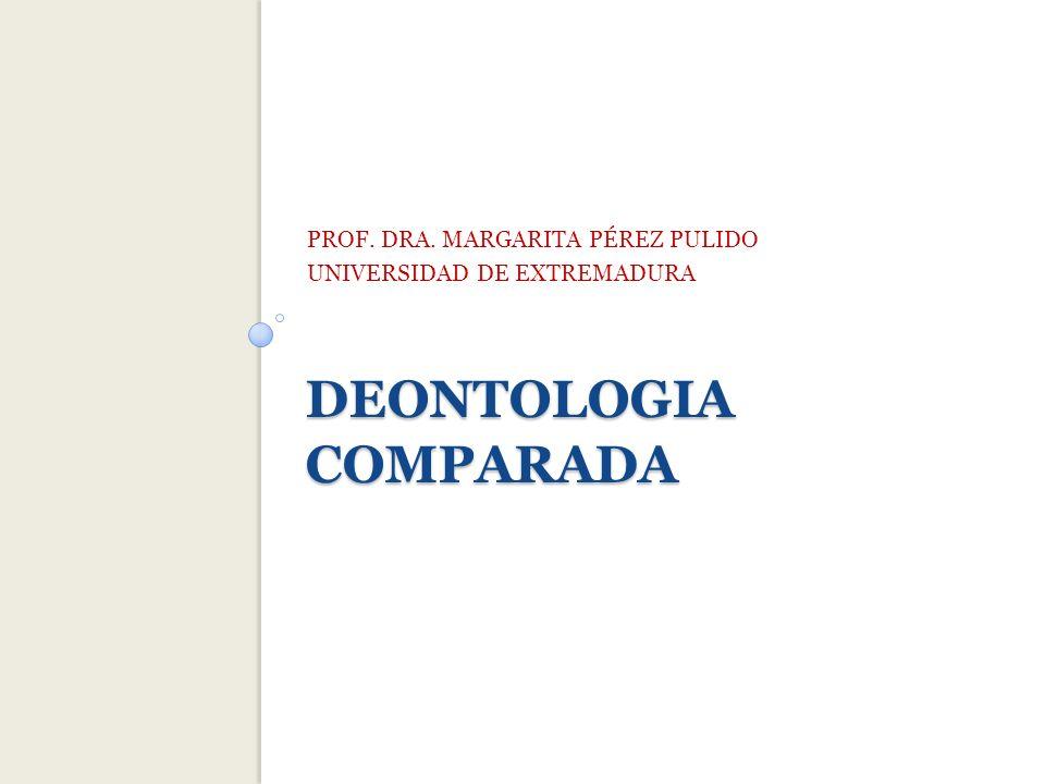 DEONTOLOGIA COMPARADA