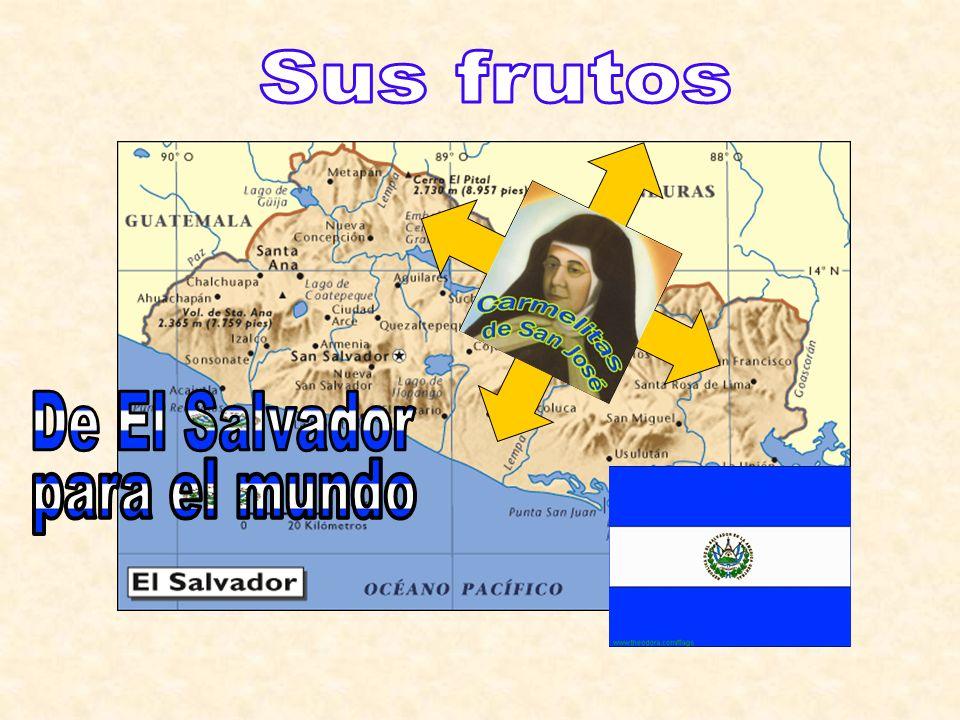 Sus frutos De El Salvador para el mundo