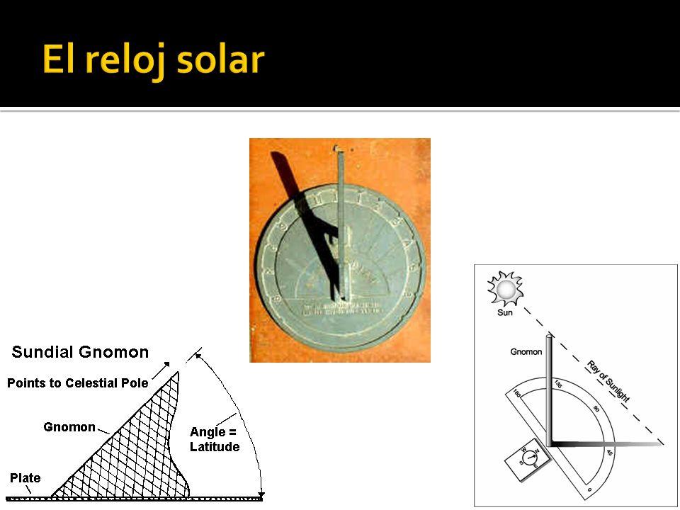 El reloj solar