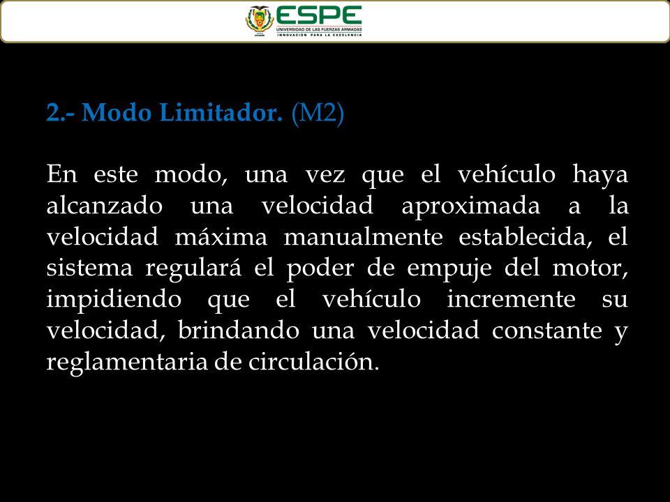 2.- Modo Limitador. (M2)