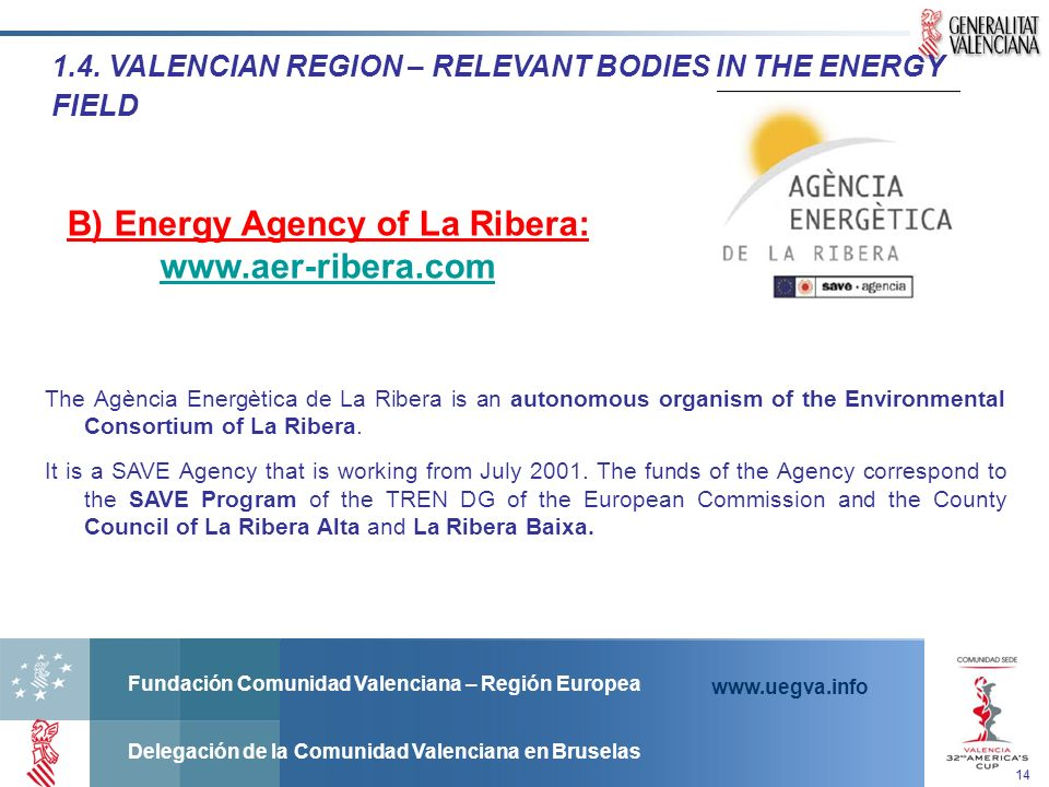 B) Energy Agency of La Ribera: