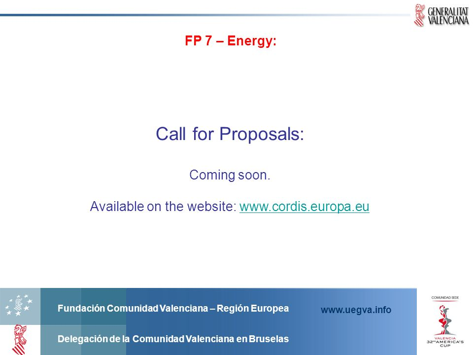 Available on the website: www.cordis.europa.eu