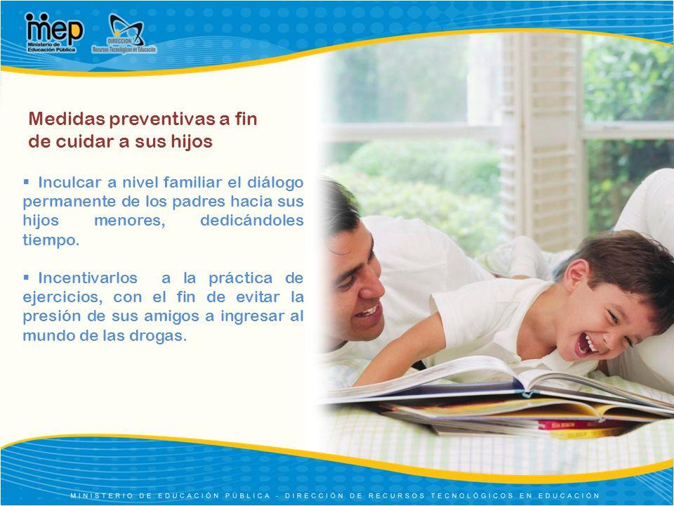 Medidas preventivas a fin de cuidar a sus hijos