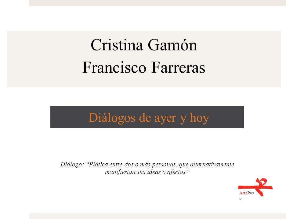 Cristina Gamón Francisco Farreras