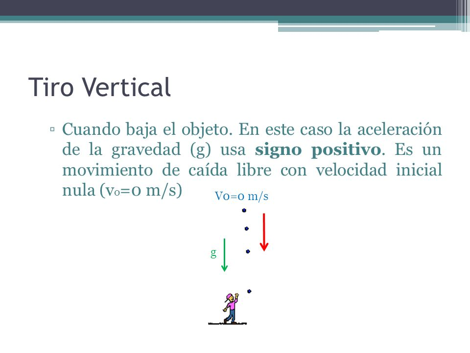 Tiro Vertical