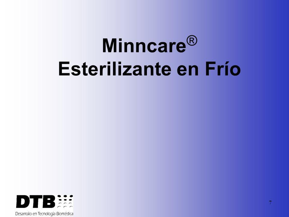 Minncare® Esterilizante en Frío