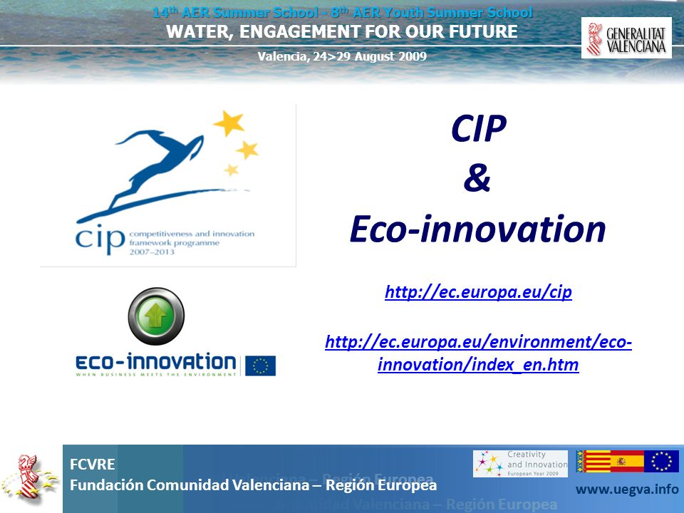 CIP & Eco-innovation http://ec.europa.eu/cip