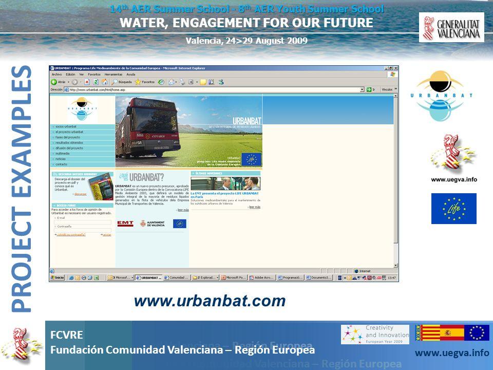 PROJECT EXAMPLES www.urbanbat.com