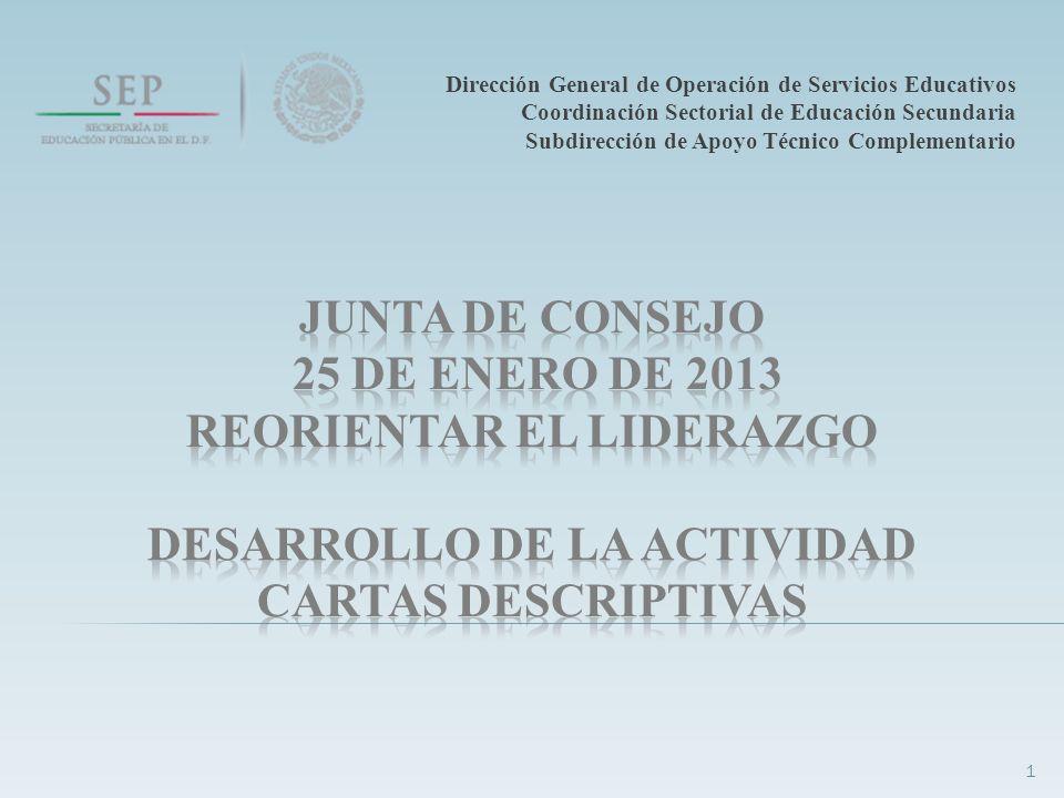 Dirección General de Operación de Servicios Educativos