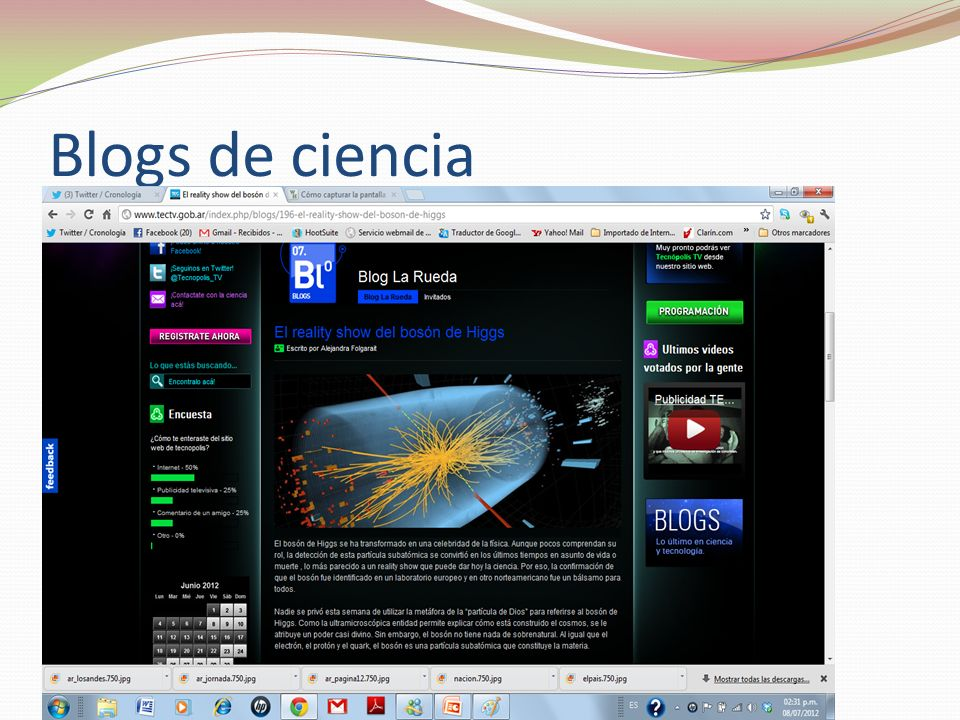 Blogs de ciencia