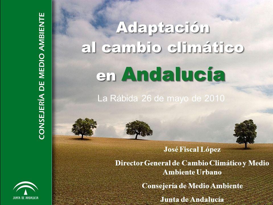 Adaptación al cambio climático en Andalucía