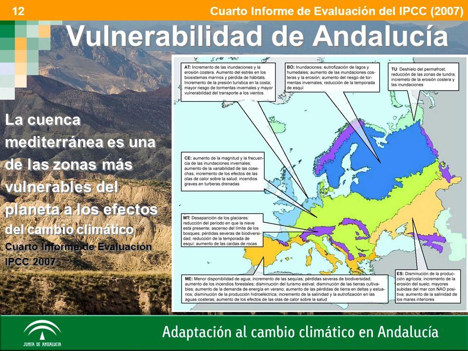 Vulnerabilidad de Andalucía
