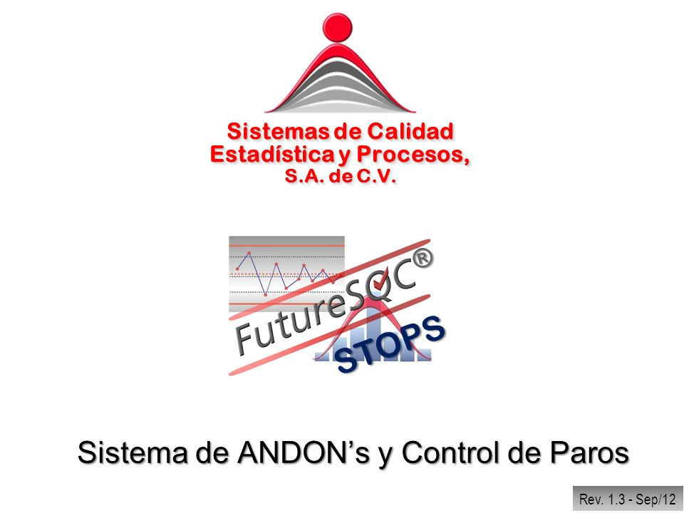Sistema de ANDON's y Control de Paros