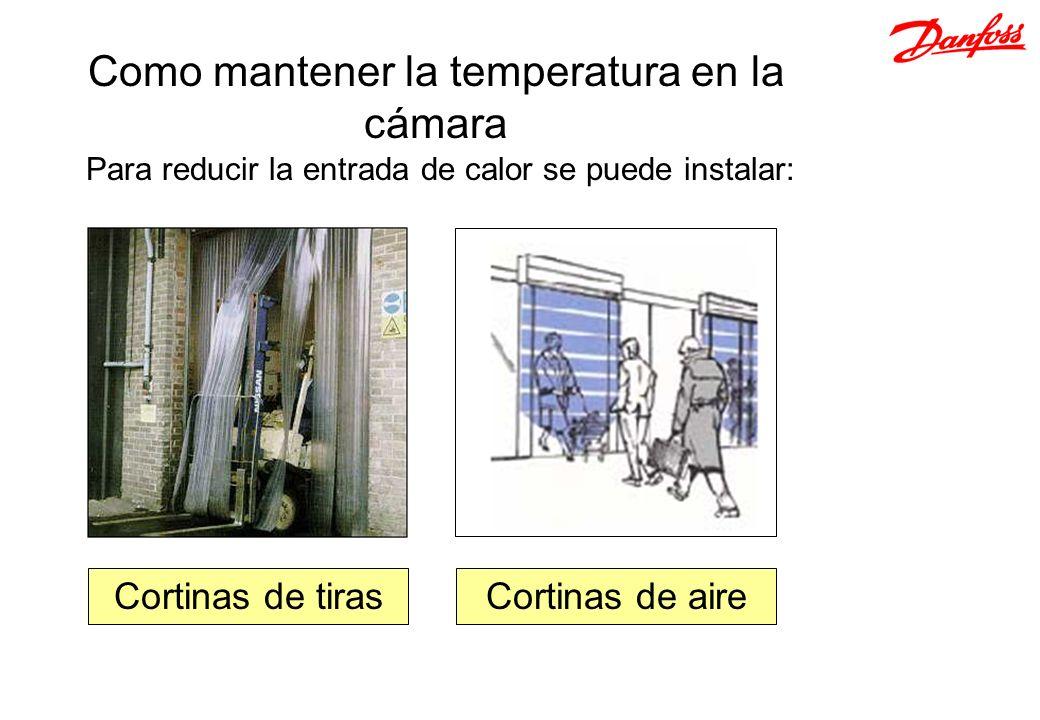 Como mantener la temperatura en la cámara