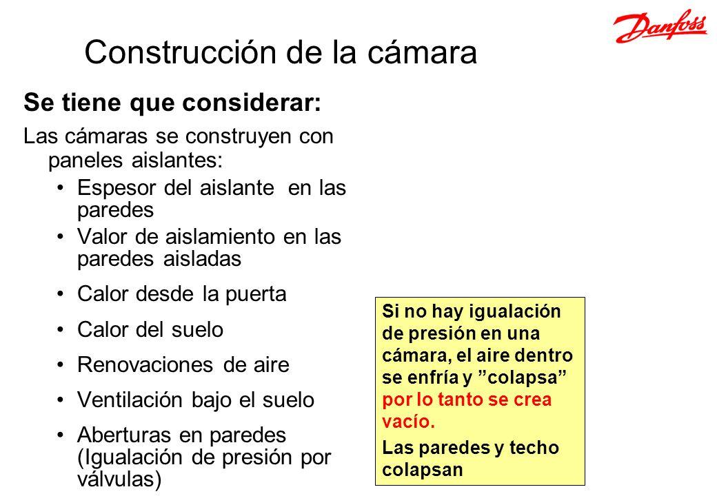 Construcción de la cámara